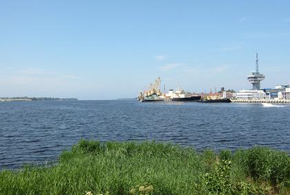 Maršruti - Daugavas ieteka jūrā