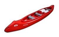 Trīsvietīga laiva (Kanoe)